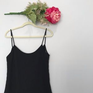 Solemio Los Angeles | Drape Back Flowy Tank Top